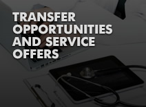Transfer opportunities and service offers
